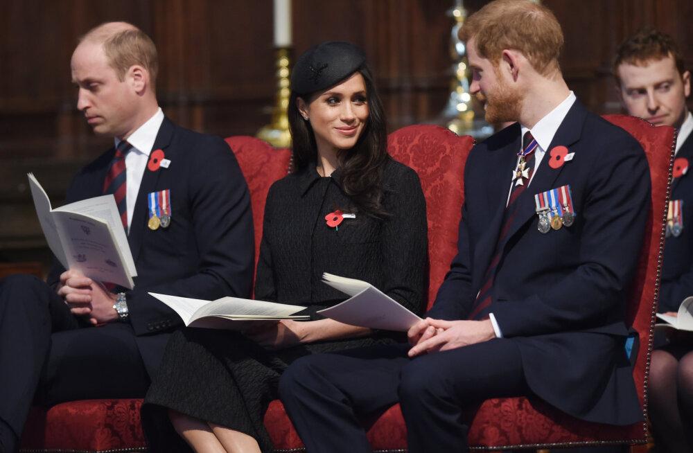 Kuninglik tüli tõuseb taas! Harry ja Meghan hülgasid Williami tema sünnipäeval