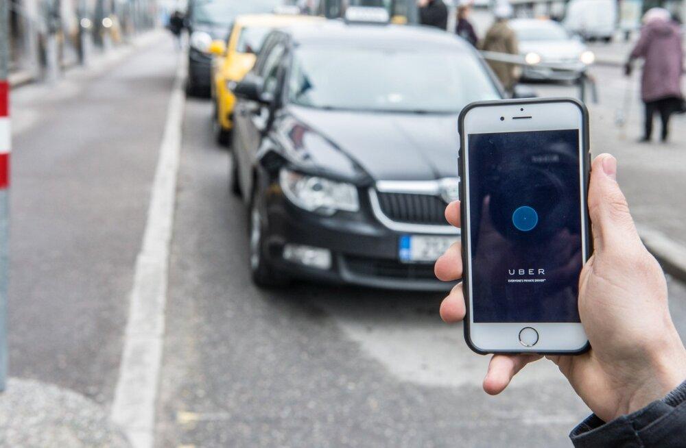 Uber näib olevat peamine oht taksodele, aga firma ise ütleb, et nad loovad ise uue niši