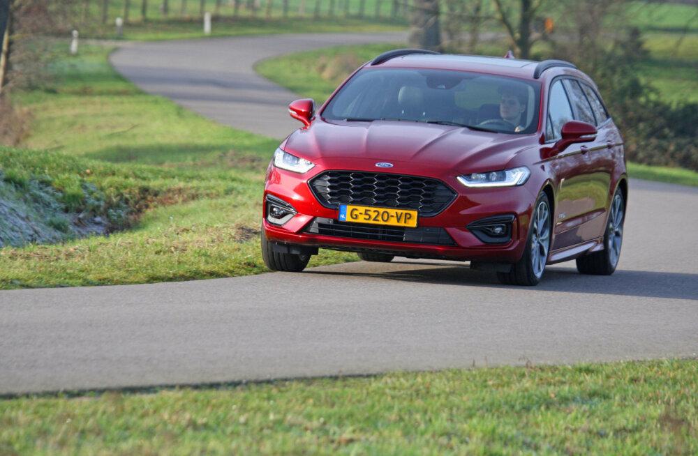 Ford Mondeo Hybrid – CO² trahvi kartuses sündinud soliidne sõiduvahend
