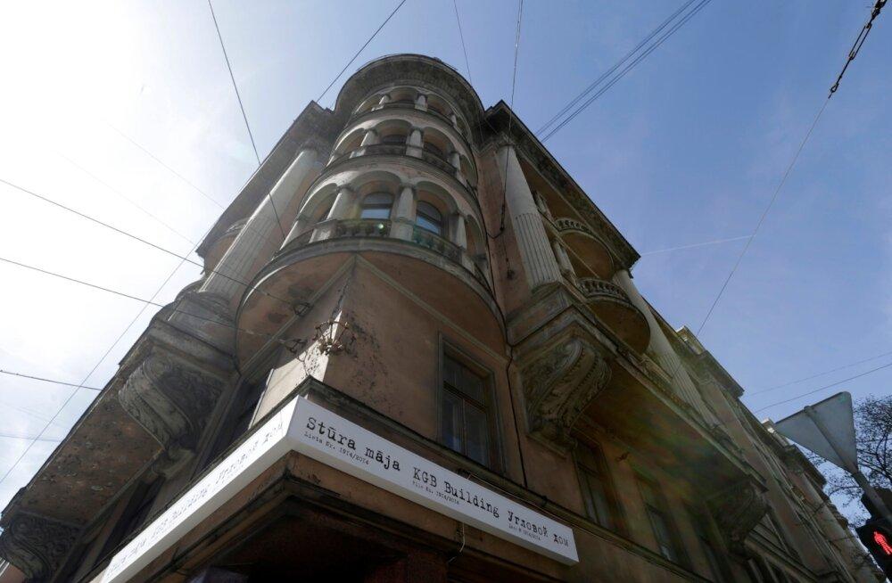 KGB endine peakorter Riias. Nüüd on sinna tehtud okupatsioonimuuseum.