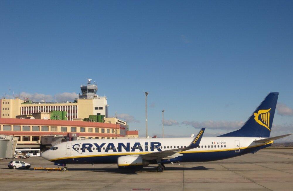 Ryanairil taas streik! Odavlennufirma saksa piloodid homme tööd ei tee, oodata on lendude hilinemisi ja tühistamisi