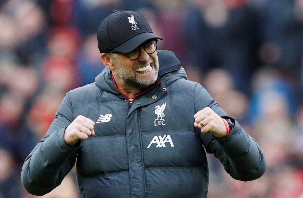 Raske võidu saanud Liverpool astus järjekordse sammu tiitli suunas