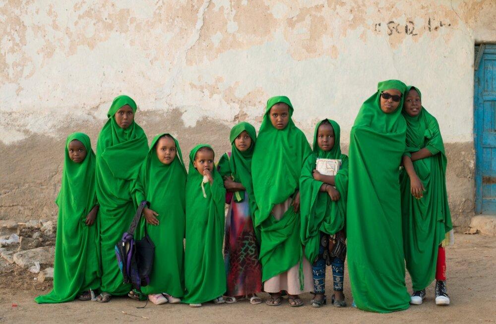 Berbera tüdrukud