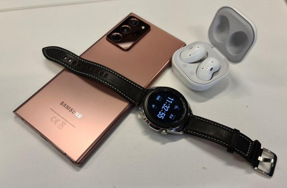 Heidame pilgu peale: Samsungi uus eliitkolmik – mobiil, kell ja klapid<o:p></o:p>