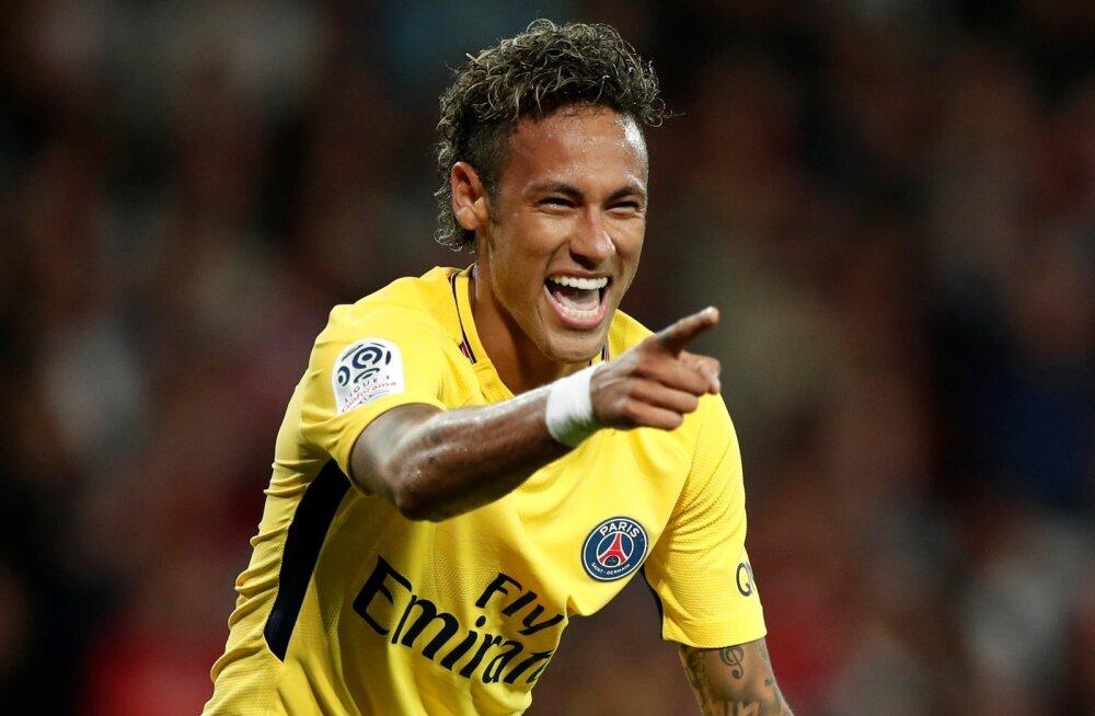 Neymar võib rõõmustada, sest on praegu maailma kalleim jalgpallur. Ajalugu aga näitab, et sellised rekordid ei püsi igavesti.
