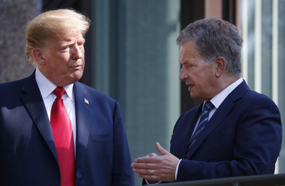 Eksperdid: Trumpi ja Niinistö kohtumisel tuleb vältida Soomele piinliku olukorra tekkimist