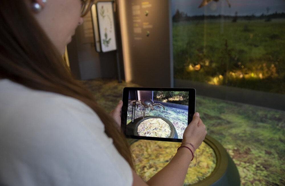 Loodusloomuuseumi uus rakendus võimaldab nutiseadmega muuseumi ellu äratada