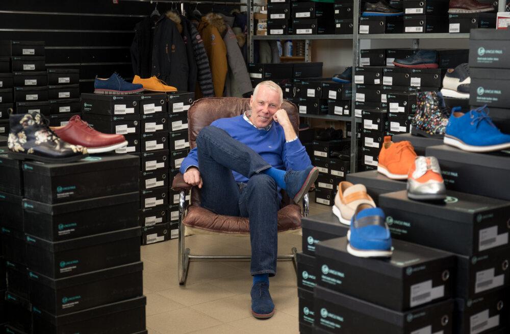 Kingabrändi Uncle Paul looja Paul Valliveere: edevad kingad on meeste seas nõutud kaup