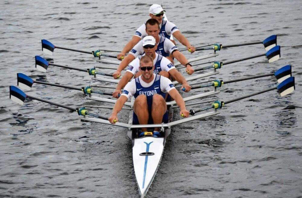 Eesti neljapaadimehed peavad tegema restardi, kui tahavad Tokyo olümpiale jõuda.