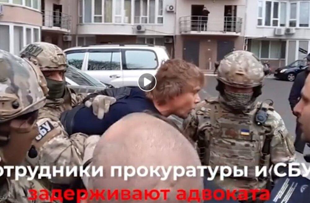 Marcel Vichmanni Ukraina esindaja Aleksandr Pogarelovi kinnipidamise katse.