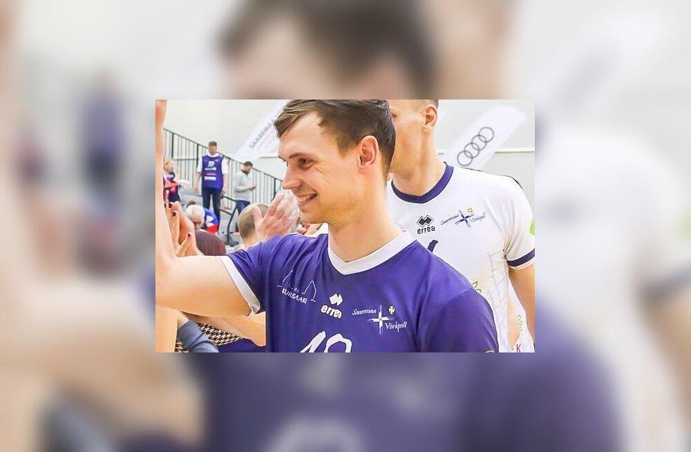 MEIE MAA | Saaremaa spordistipendiumi sai võrkpallur Johan Vahter