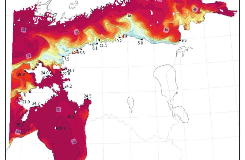 MEIE MAA | Veetemperatuuride kontrastid tekitab maatuul