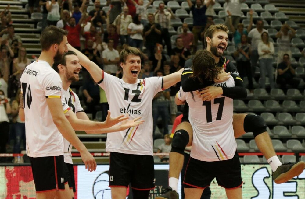 Sinilõvid? EMil säranud Belgia mängija andis Eesti võrkpallikoondise uhkele hüüdnimele ausa hinnangu