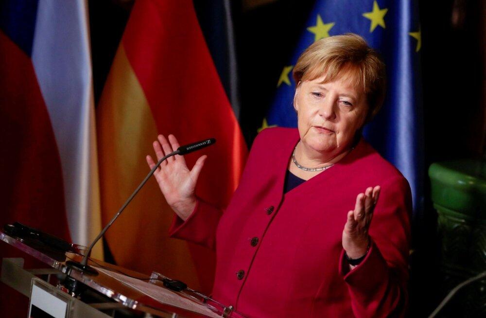Angela Merkel ei kandideeri enam Saksa valitseva erakona CDU juhiks ega järgmisse parlamenti