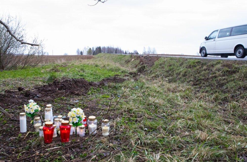 Õnnetuses hukkus kaks noort.