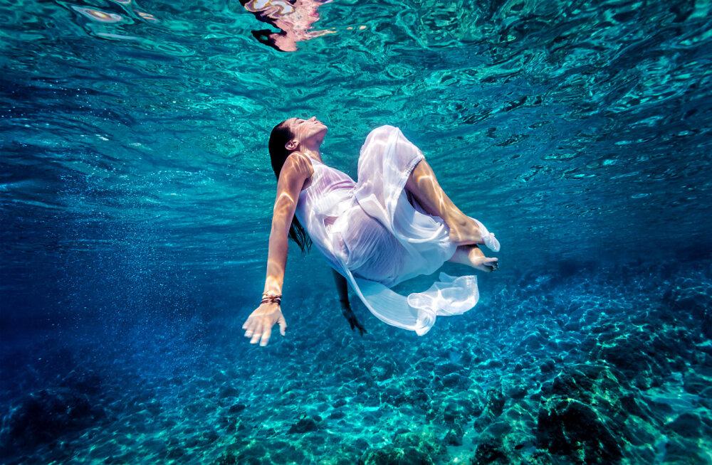 Sinine meeleseisund: vesi rahustab, lõõgastab ja mõjub meditatiivselt