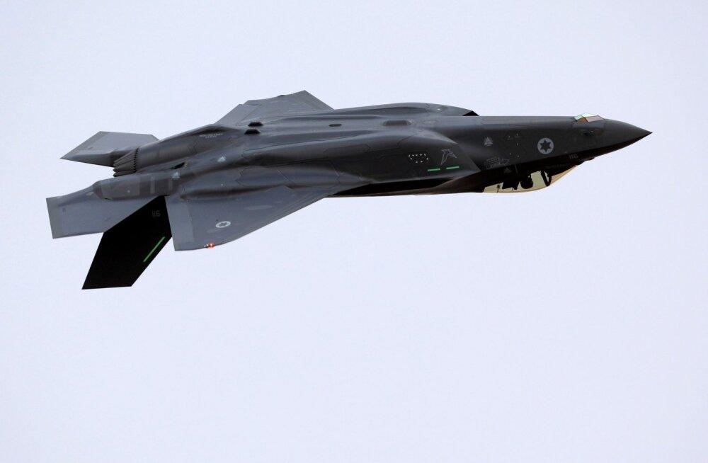 Iisrael teatas hävitaja F-35 esimesena kasutamisest lahingus