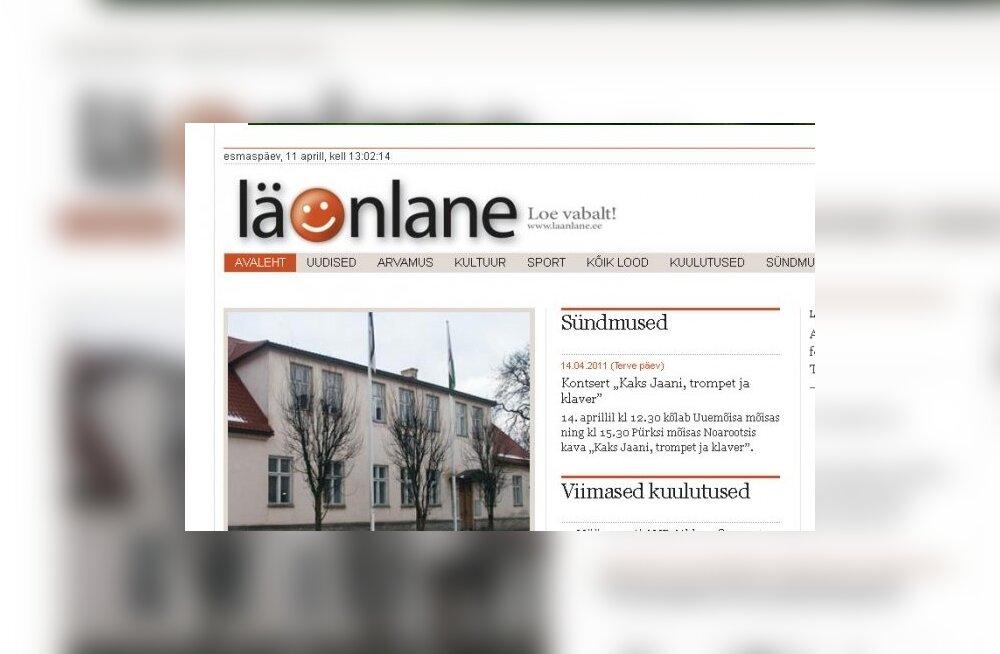 Lääne Elu peatoimetaja avas uudisteportaali