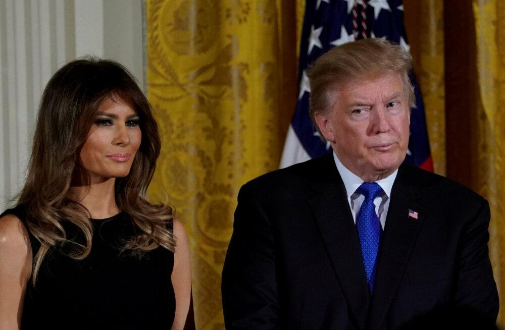 FOTO | Trumpide abielu seksiskandaali tõttu karil? Melania avaldas tähendusrikka foto ilma abikaasata