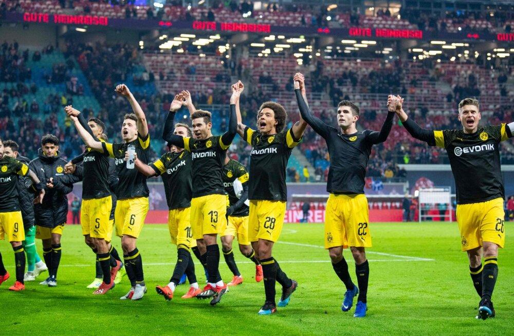 VIDEO | Dortmund kindlustas võiduga lähikonkurendi üle liidrikohta