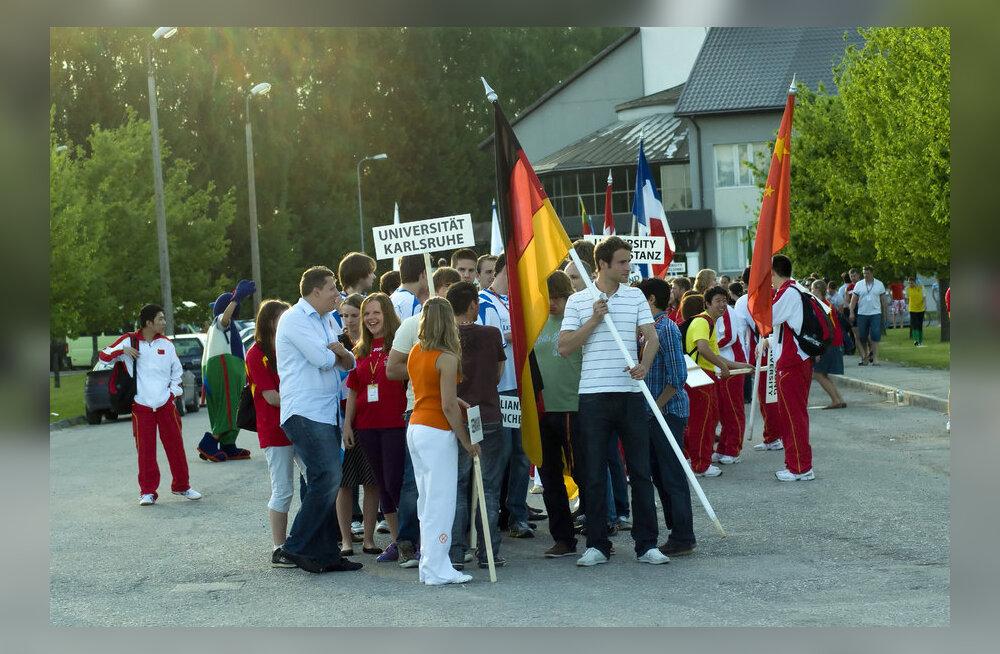 Olümpiahõbe Heiki Nabi kutsub tudengeid rahvusvahelistele üliõpilasmängudele