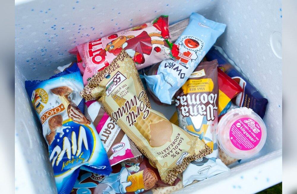БОЛЬШОЙ ТЕСТ DELFI: Из 20 видов мороженого выбраны 2 лучших