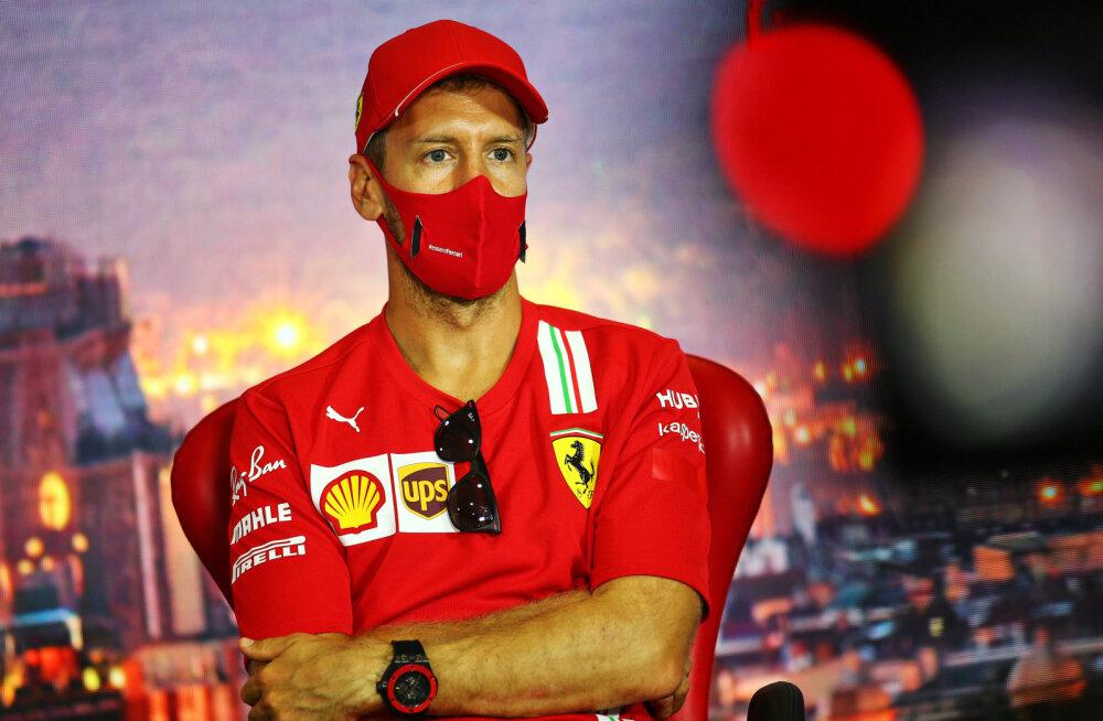 Portaal: Vettel sõlmib Belgia GP-l Aston Martiniga lepingu