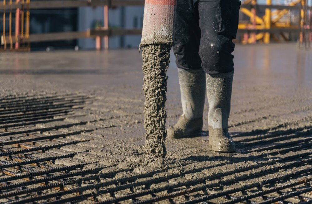 "Эстонские предприятия с помощью ""интернета вещей"" следят за затвердеванием бетона"