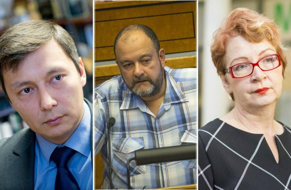Mihhail Kõlvart, Mihhail Stalnuhhin, Yana Toom