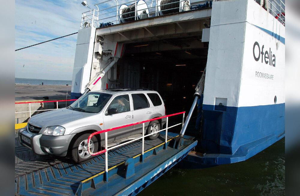 Väinamere Liinid teenindas nädalavahetusel üle 58 000 reisija