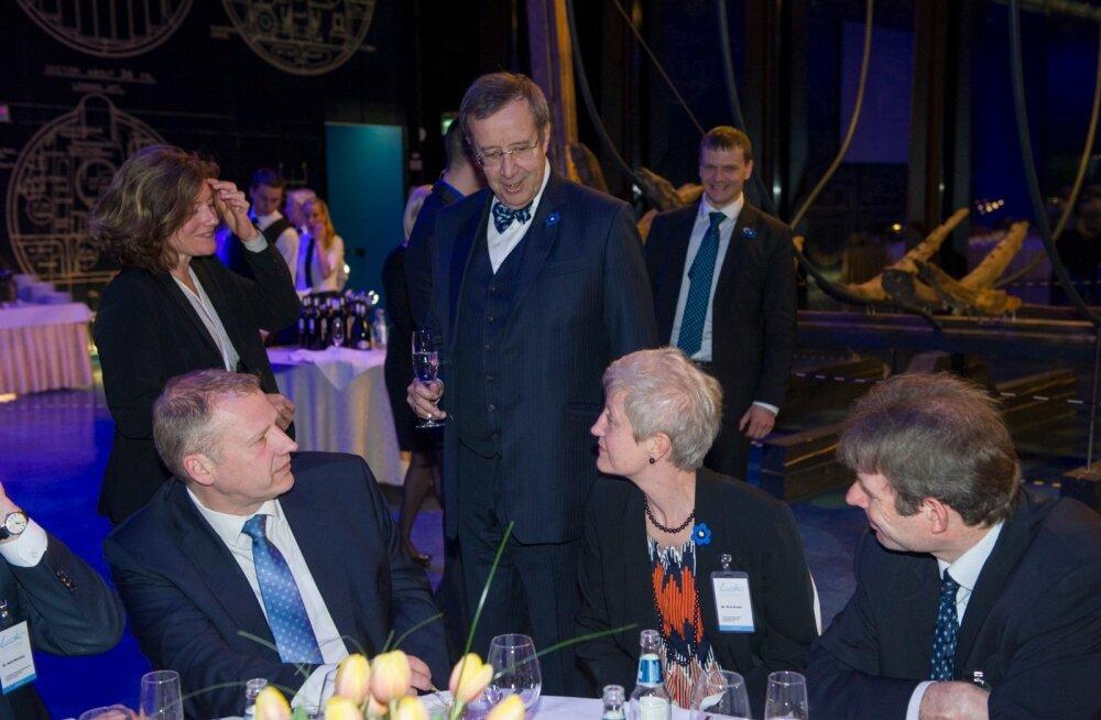 Lennart Meri Konverents.Õhtusöök.Lennusadam
