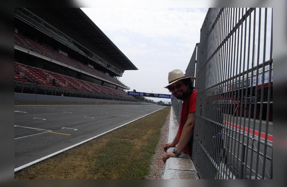 Reisikiri: Circuit de Catalunya garaažidetagune elu