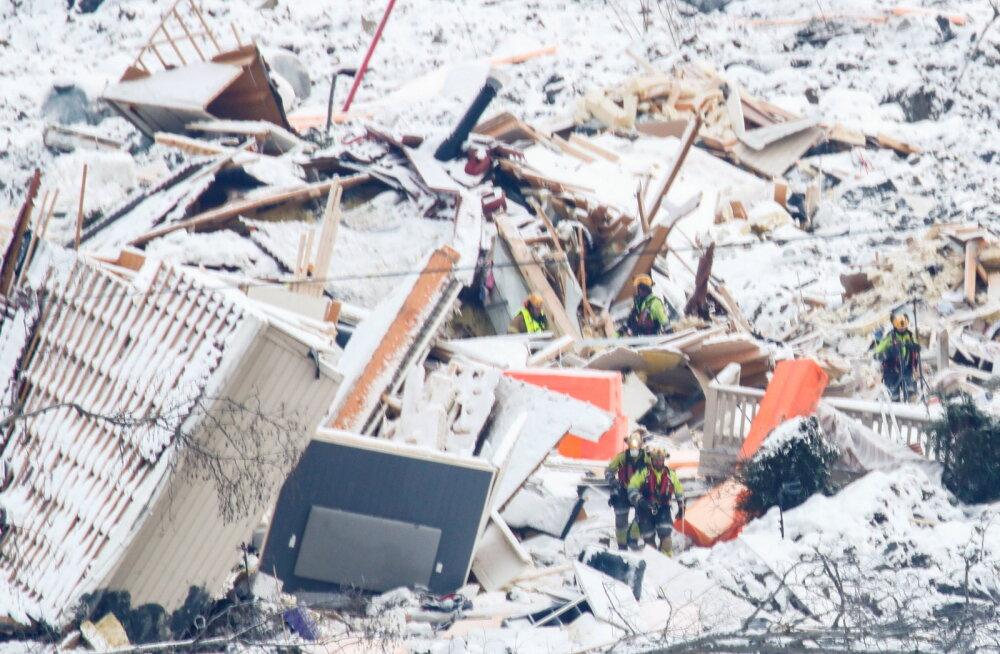 VIDEO | Norras Gjerdrumis toimus uus maalihe, päästetööd tuli katkestada