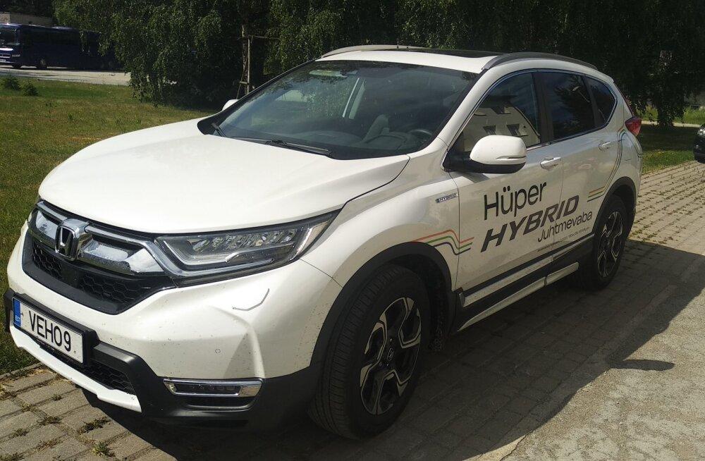 PROOVISÕIT | Mõnus ja mõistlik Honda CR-V hübriid
