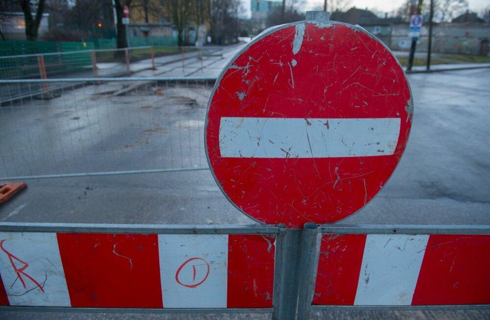 Veeavarii tõttu tasub Marienthali keskuse juures liiklemist vältida