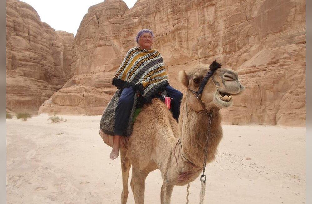 Aita Mihkelsoo suur unistus on saada endalegi kaamel, kellega saaksid kõrbes käia ka teised eestlased.