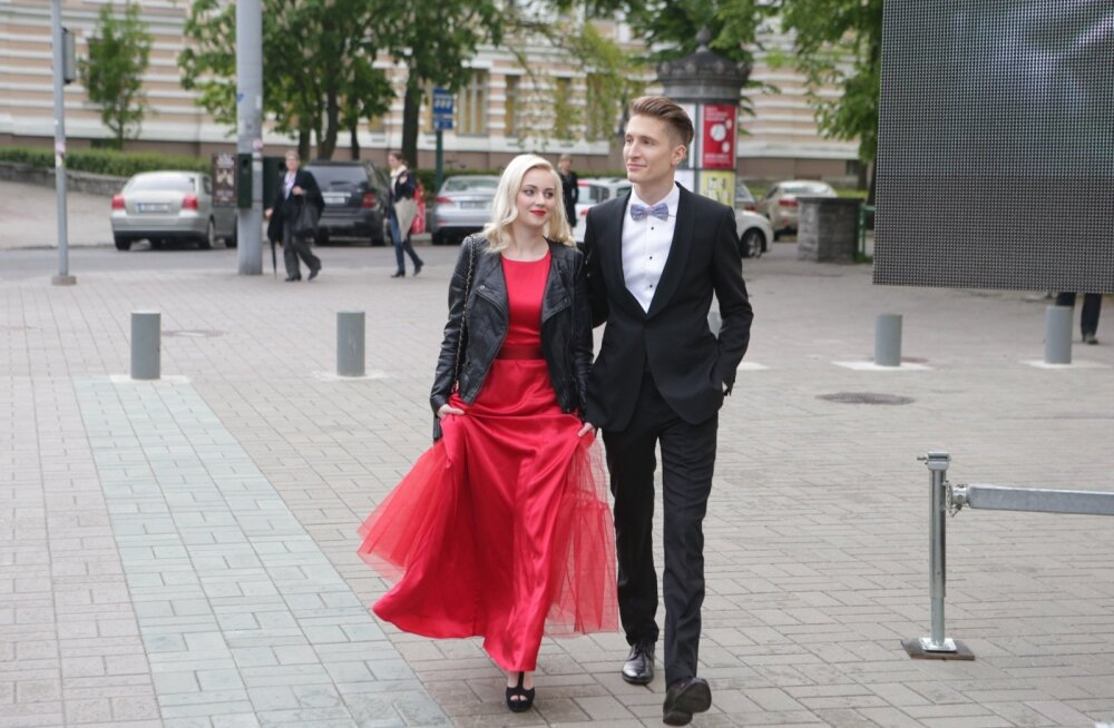 Kerli Kivilaan ja Karl-Erik Taukar