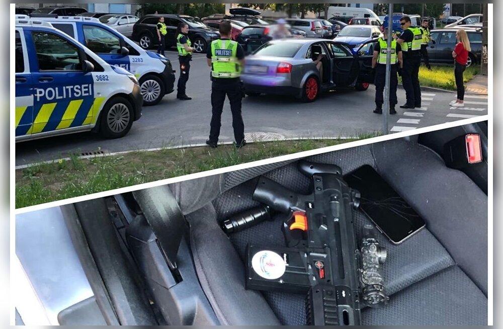 Rumaluse tipp: Lasnamäel vehkis üks naisterahvas autoaknast mängurelvaga