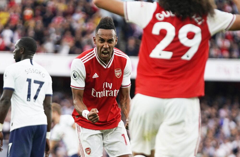 Arsenal päästis endale koduplatsil Tottenhami vastu viigipunkti, Everton sai magusa võidu