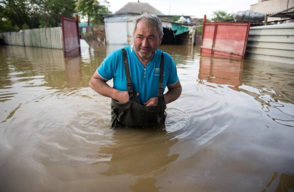 Venemaa Stavropoli krais evakueeriti tulvavee tõttu seitse asulat