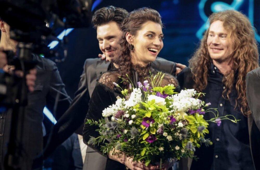 VAATA | Oma eurolaulu selgitasid eile välja ka meie lõunanaabrid lätlased!