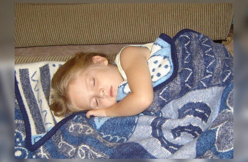Mis kell teie lasteaialapsed magama lähevad?