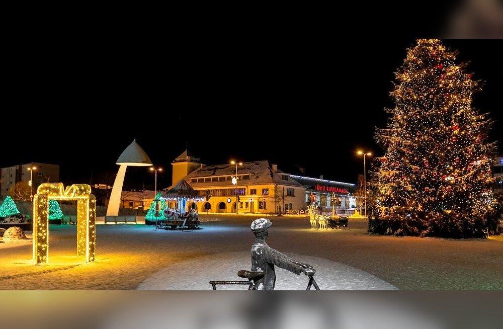 Mine vaatama kogu perega! Need on kõige ägedamad jõulukuused, linnaväljakud ja valgusinstallatsioonid üle Eesti