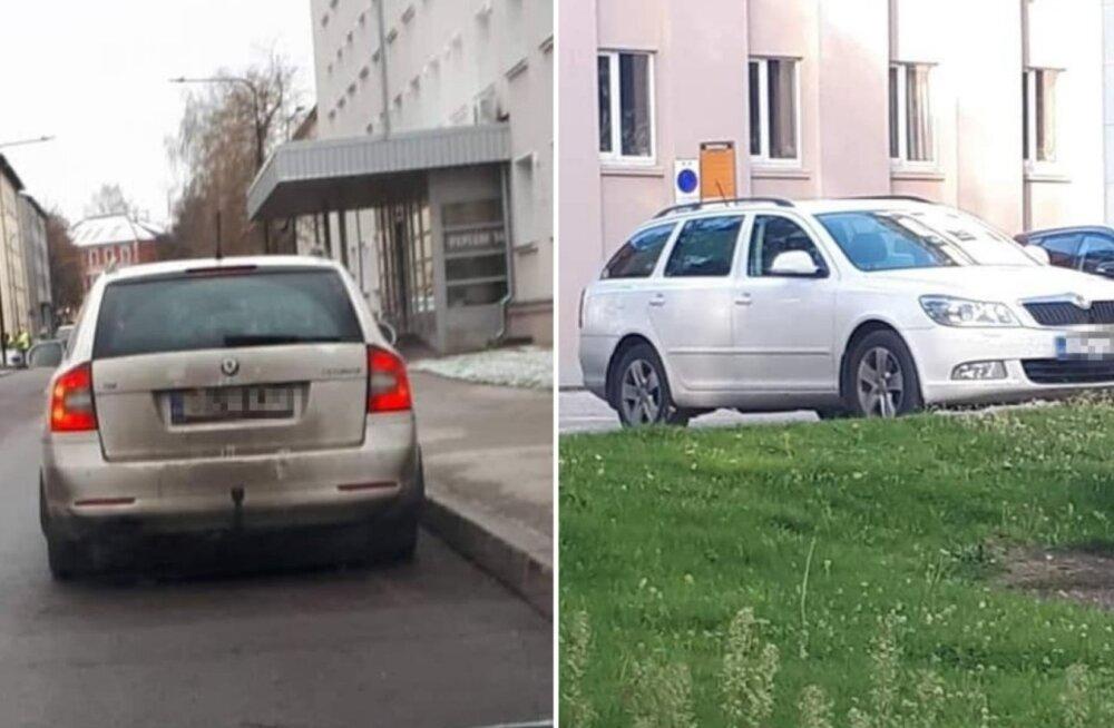 В Тарту замечен мужчина, который удовлетворял себя в общественном месте