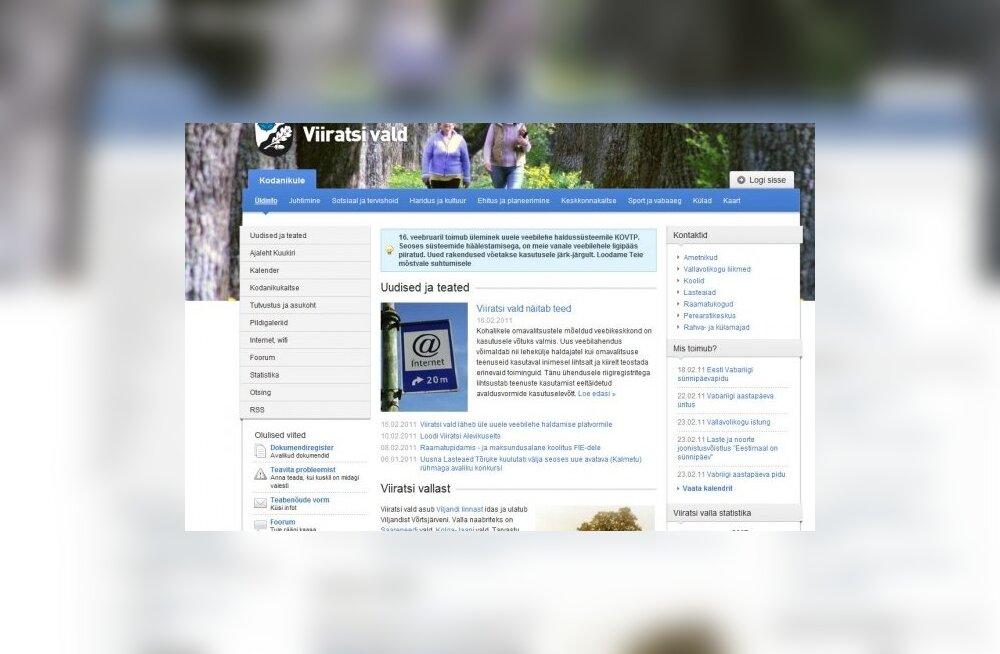 Kohalike omavalitsuste veebiportaal on kasutusvalmis