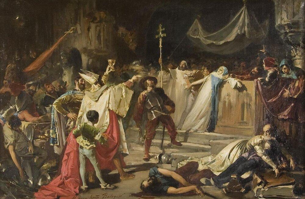 Vandaalid Roomat rüüstamas? Kristlikud armeed said 1527. aastal samaga hakkama