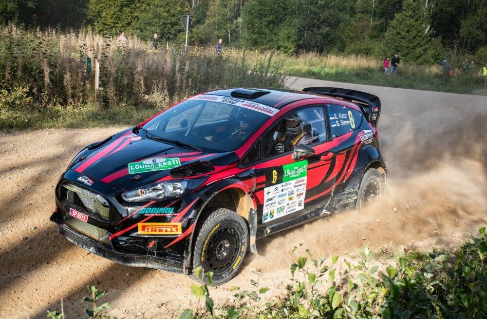 Egon Kaur soovib oma Ford Fiesta protosõiduki vahetada Rally Estonial Hyundai R5 auto vastu.