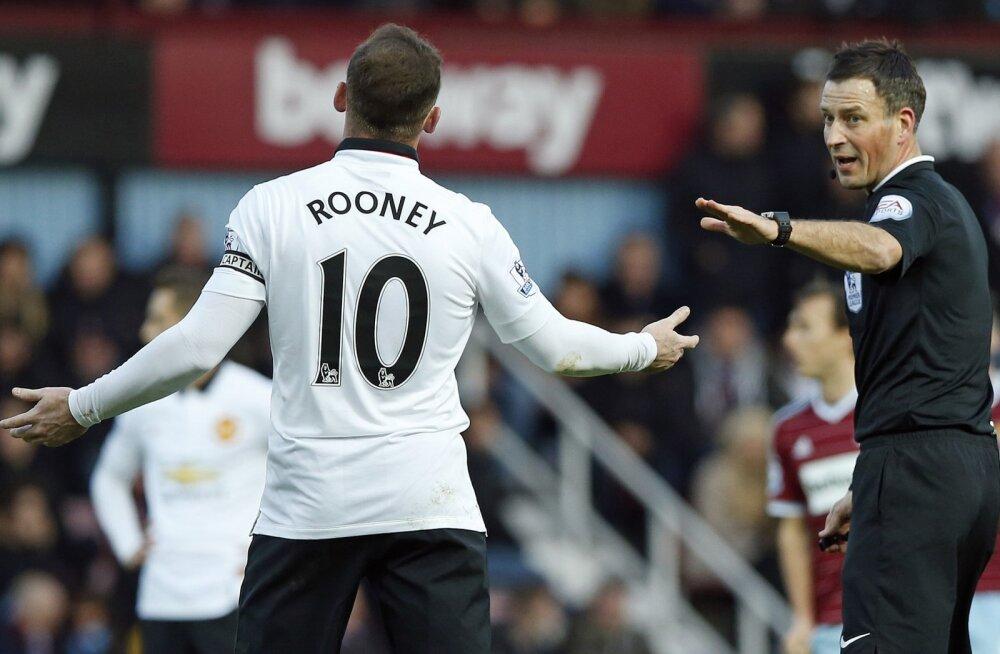 Wayne Rooney mängus West Hamiga