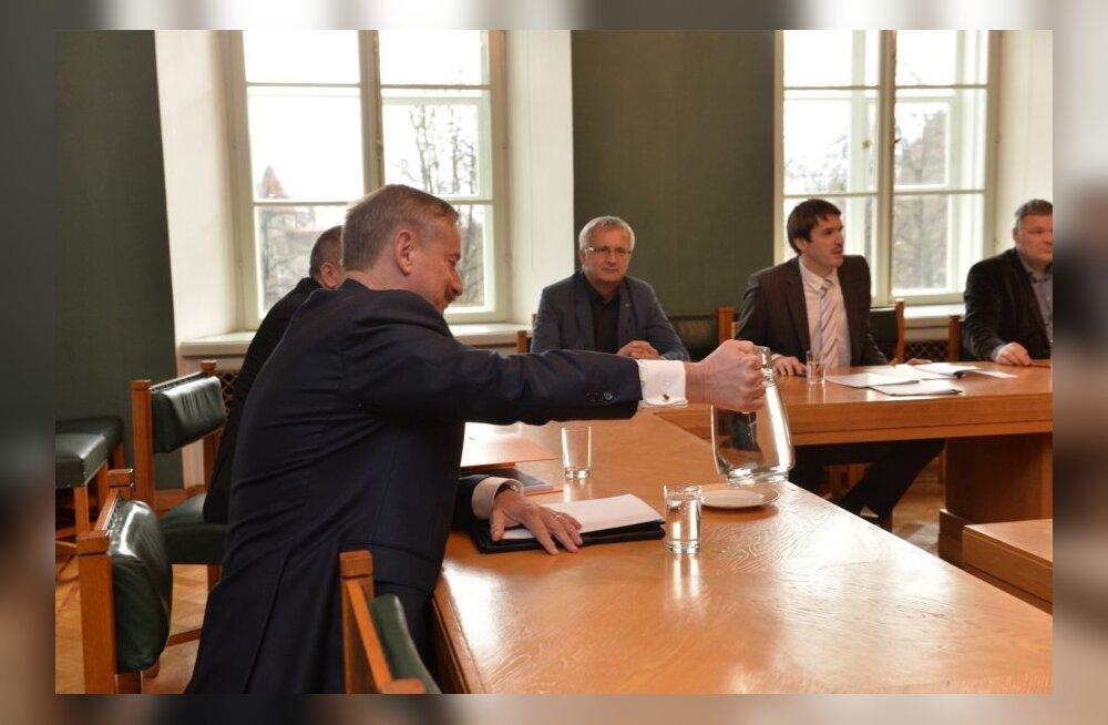 Siim Kallas, VEB Fondi uurimiskomisjon, Rainer Vakra, Väino Linde