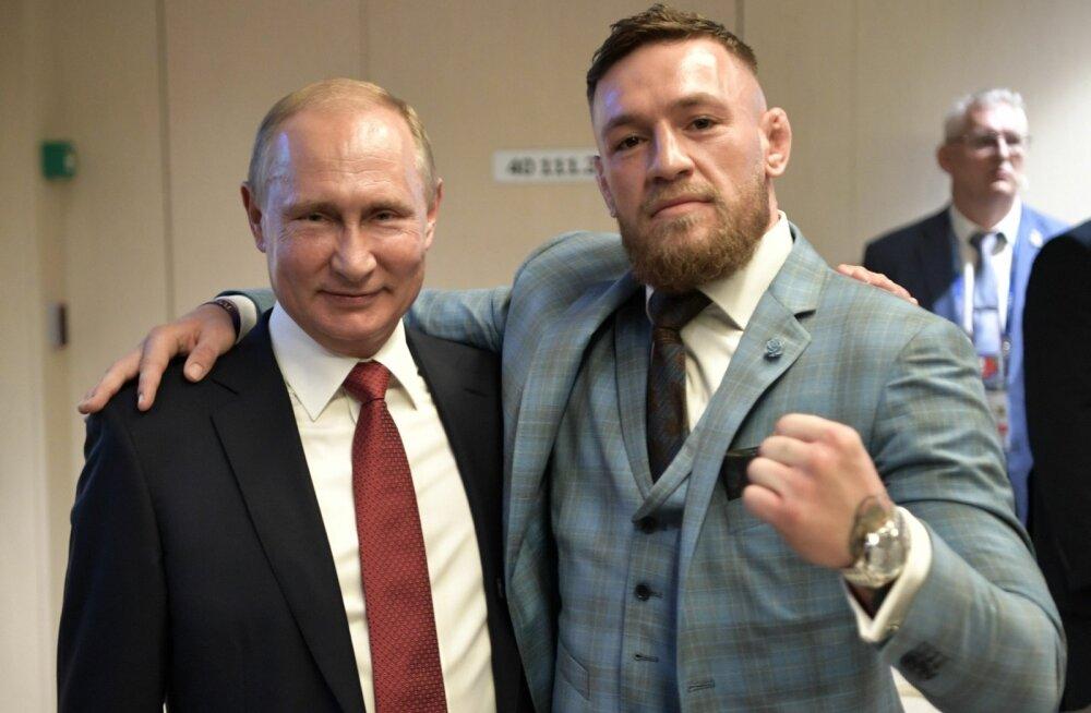 Vladimir Putin ja Conor McGregor.
